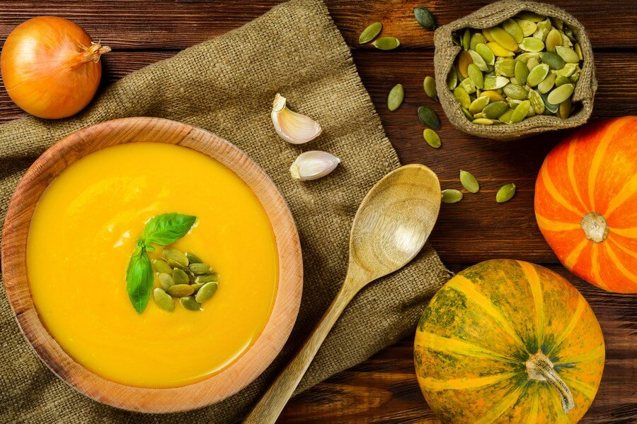 Butternut Squash Soup With Ginger - DP