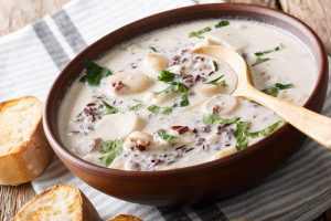 Cream Chicken With Wild Rice Soup - DP