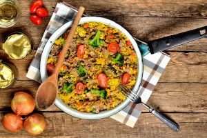Roasted Vegetable Orzo - DP