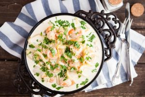 Shrimp Chowder Easy Comfort Food - DP