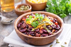 Vegetarian Chili Hearty and Healthy - DP