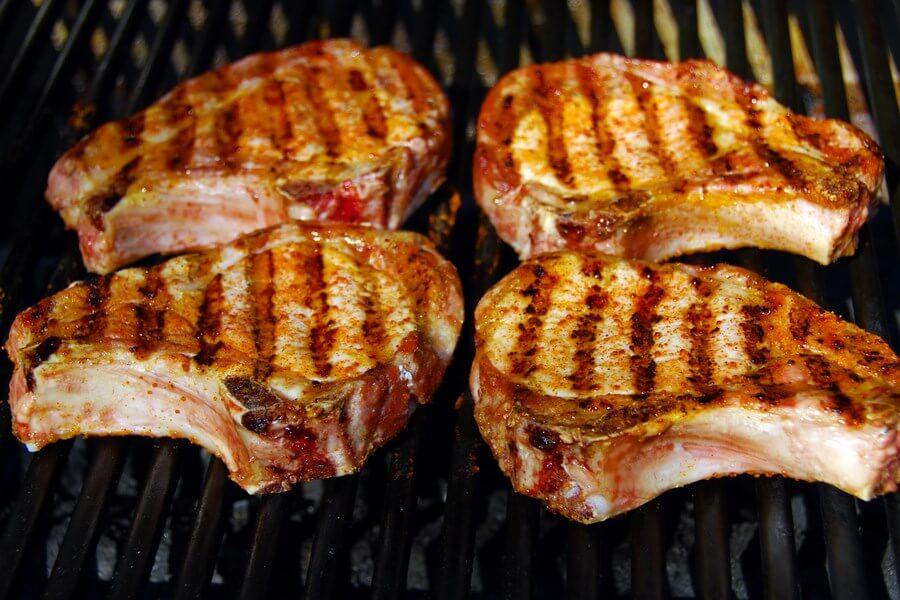 BBQ Pork Chops With Honey Mustard dp