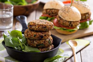 Bean Burgers Amazing Mexican Vegan Option dp