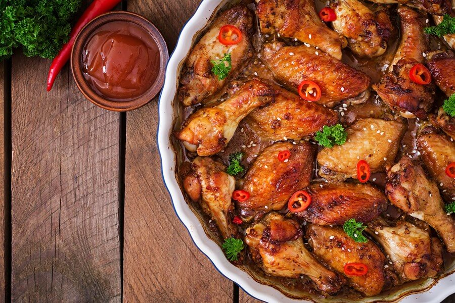 Chinese Chicken Wings (Spicy) dp