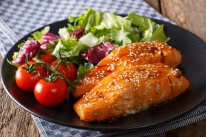 Glazed Salmon Sweet & Spicy dp