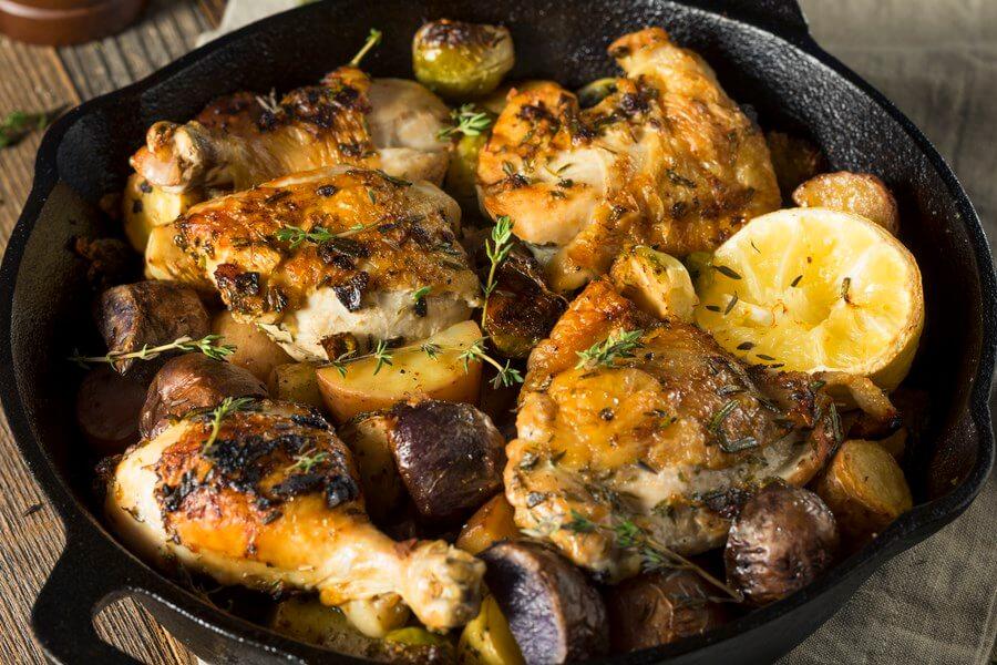 Lemon Garlic Chicken Slow Cooker Perfection - DP