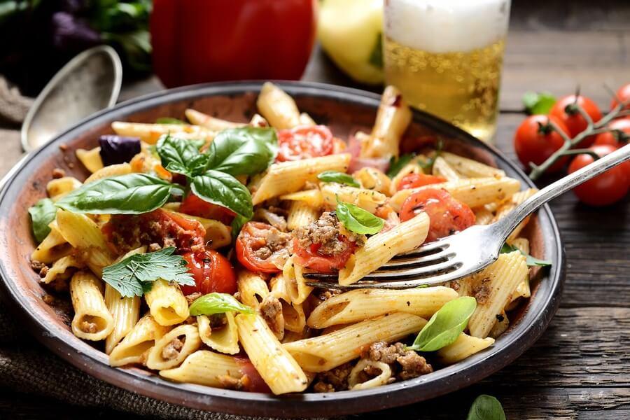 Vegetarian Pasta Penne dp