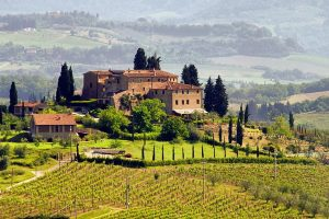 Famous Wines - A Winery in the Chianti Region of Italy where Hannibal Lecter's famed suggested wine comes from!
