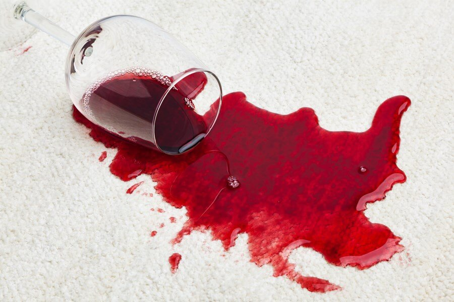 Wine Stains Cleaning The Necessary Evil DP